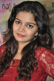 Swathi Pictures in Red Dress at Swamy Ra Ra Movie 50 Days Function  0030