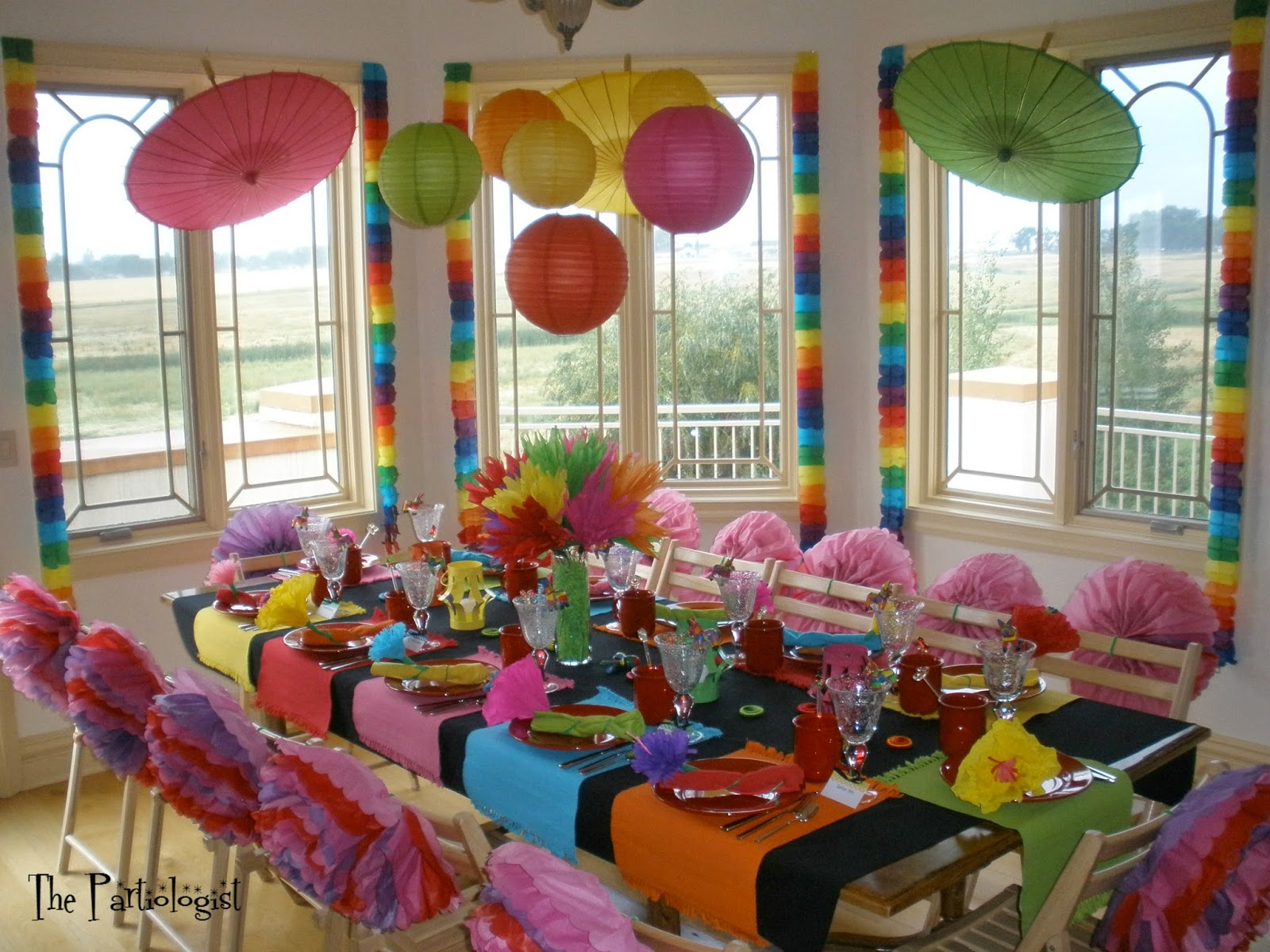 Fiesta table decorations ideas - Fiesta Part Ii