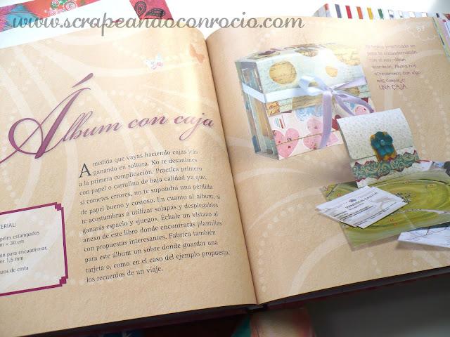 Libros scrapbooking opinion Scrapbook fácil Bienve Prieto