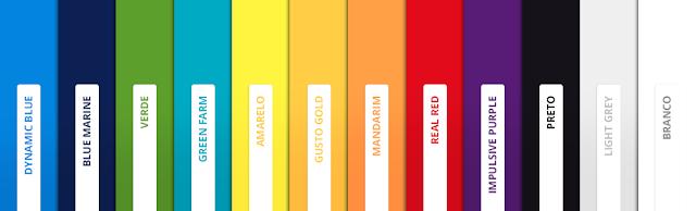 cores das molduras: Parederia
