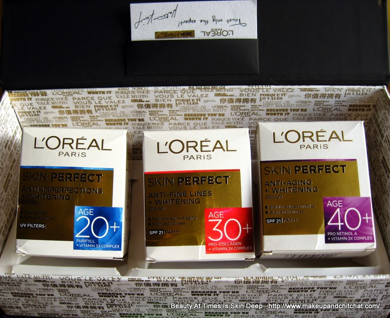 L'oreal India skin perfect photo and price