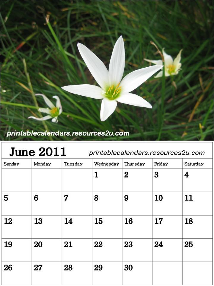 calendar june 2012.Free June 2011 Calendar