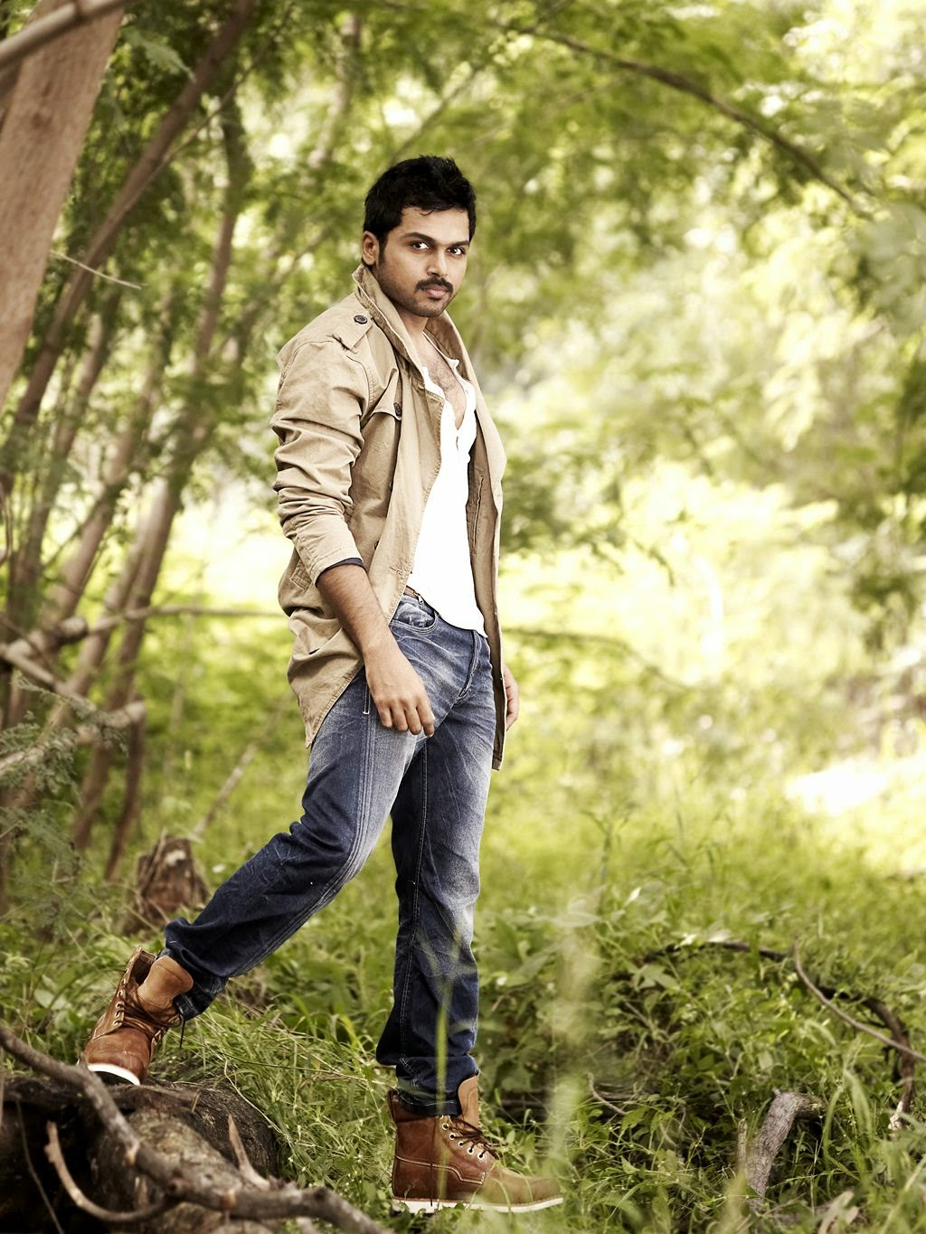 Karthi latest stylish photoshoot