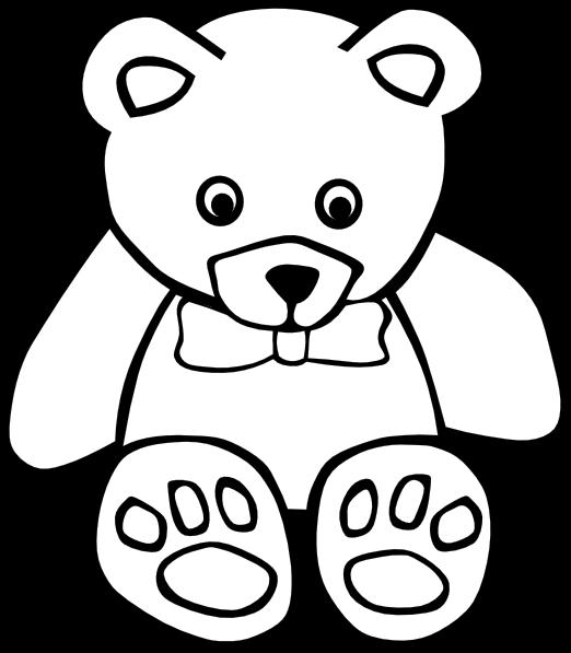 colorear osos: