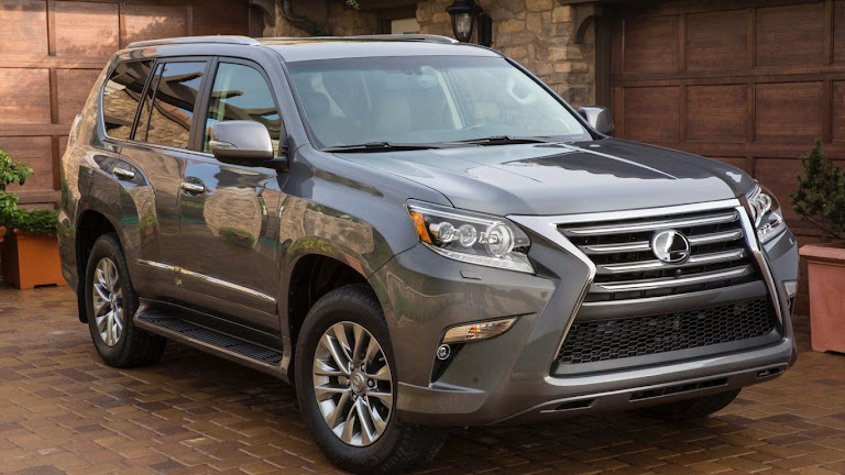 2014 Lexus GX 460 SUV HD Wallpaper 2