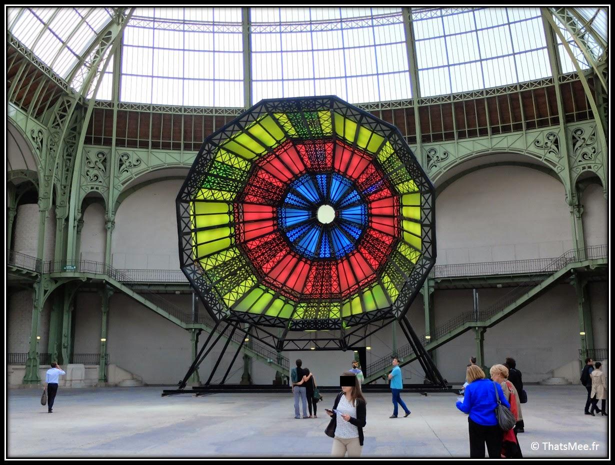 La Rotonde vitraux, Monumenta 2014 art contemporain Grand Palais l'étrange cité de Ilya et Emilia Kabakov artistes russes