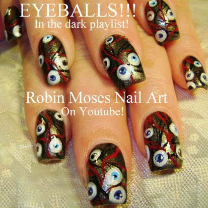 Robin moses nail art halloween nails halloween nail art pink nail art tutorials halloween nails diy easy halloween for beginners and up halloween nail art designs tutorial prinsesfo Images