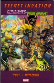 Cover of Secret Invasion, Runaways and Young Avengers