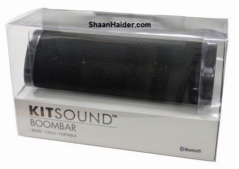 KitSound BoomBar Portable Rechargeable Bluetooth Speaker : Hands-On Review