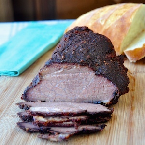 Slow Roasted Dry Rubbed BBQ Beef Brisket