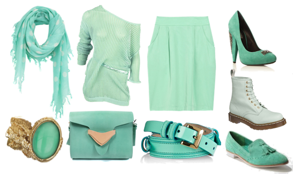 how to make the color mint green