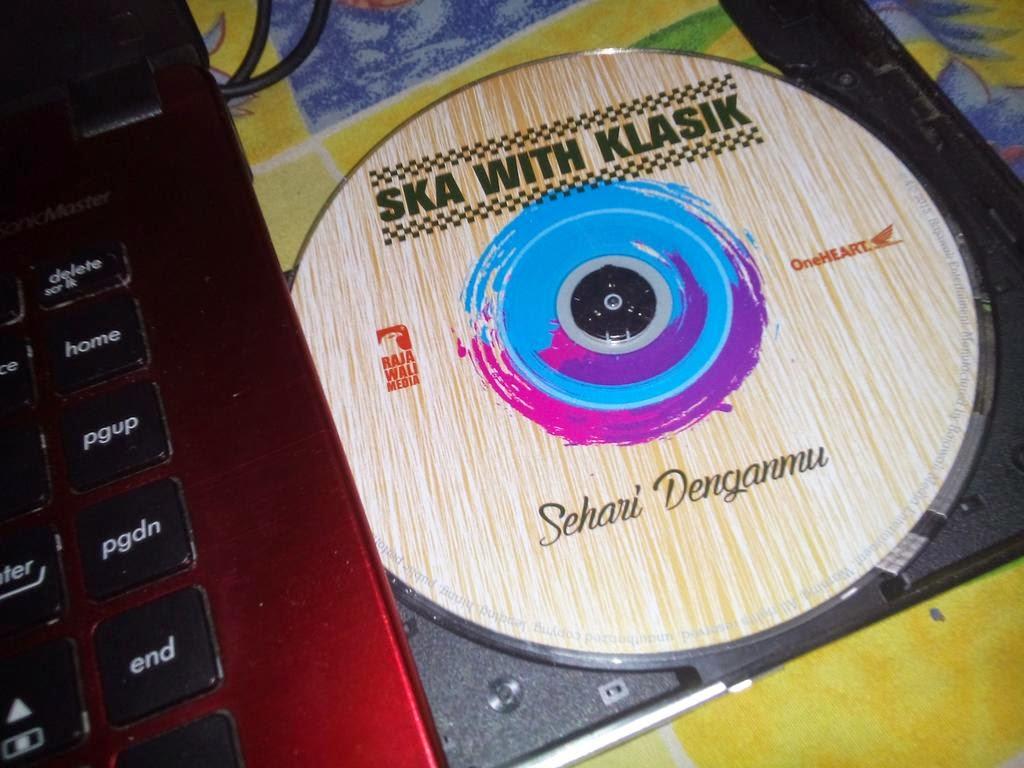 CD original Ska with klasik sehari denganmu