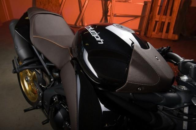 Triumph Speed Triple moto com estilo Bulldog por Vilner Bulgária