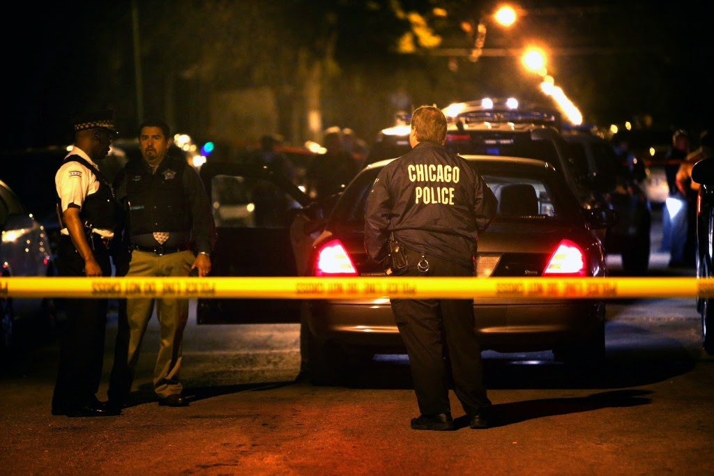 Czarny weekend w Chicago i kilka słów o miejskiej przestępczości