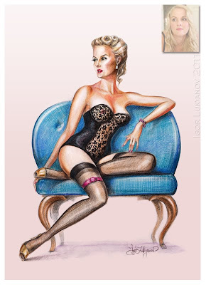 poster stile pin up anni 50