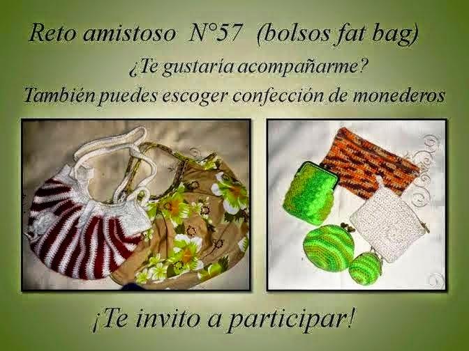 Participo Reto Amistoso Nro. 57 - Bolsos, monederos...