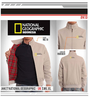 Jaket National Geographic - Indonesia