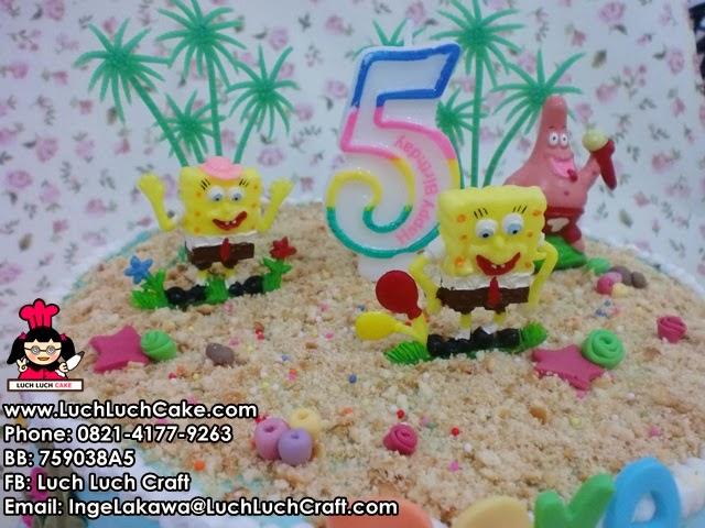 Kue Tart Spongebob murah Daerah Surabaya - Sidoarjo