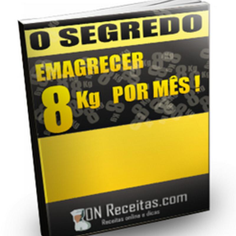 Ebook Gratuito: O SEGREDO – Emagrecer 8Kg por mês