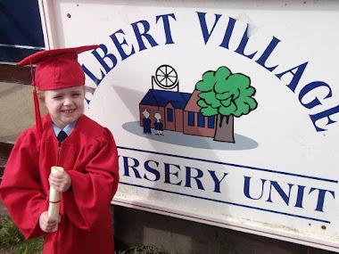 Graduating from Nursery!