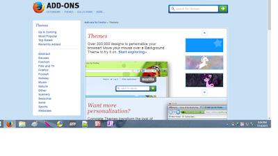 Cara Terbaru Menginstal Tema Pada Browser Mozila Firefox