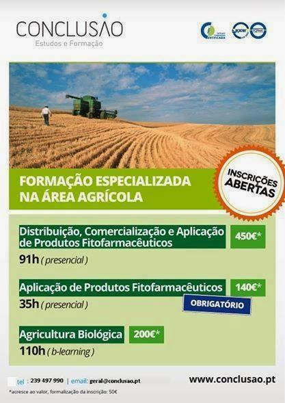 formações na area agricola