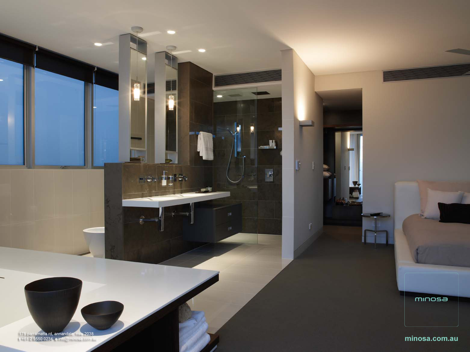 Open plan ensuite bathroom ideas - Open Plan Ensuite Bathroom Ideas 33