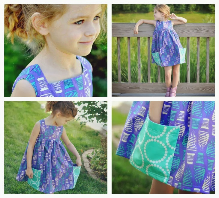sally dress by very shannon sewn by bobaloo kids