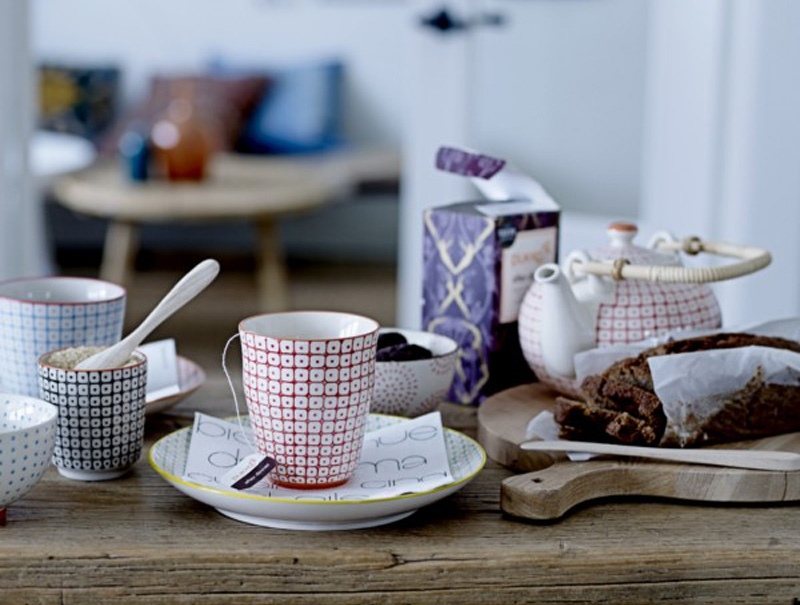 tienda de decoración online Maison Artist, conjunto de té