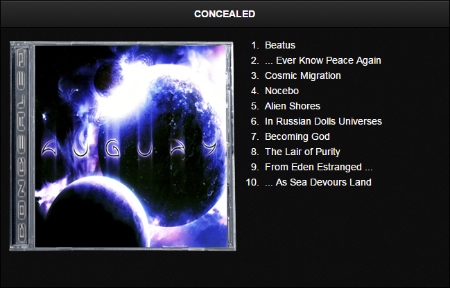 Augury - Discografia [Progressive Death Metal]