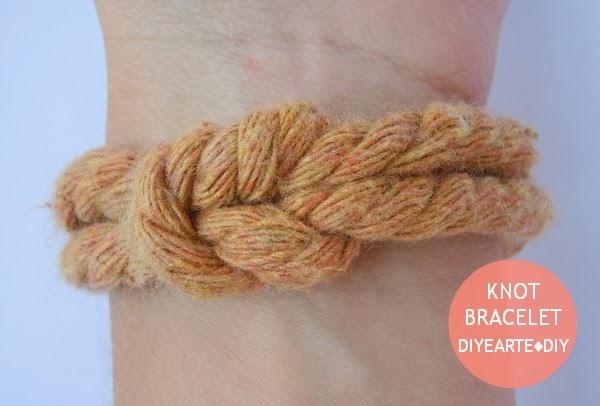 knot-bracelet-diy-rope-pulsera-nudo-handmade-diyearte-cuerda-jewelry