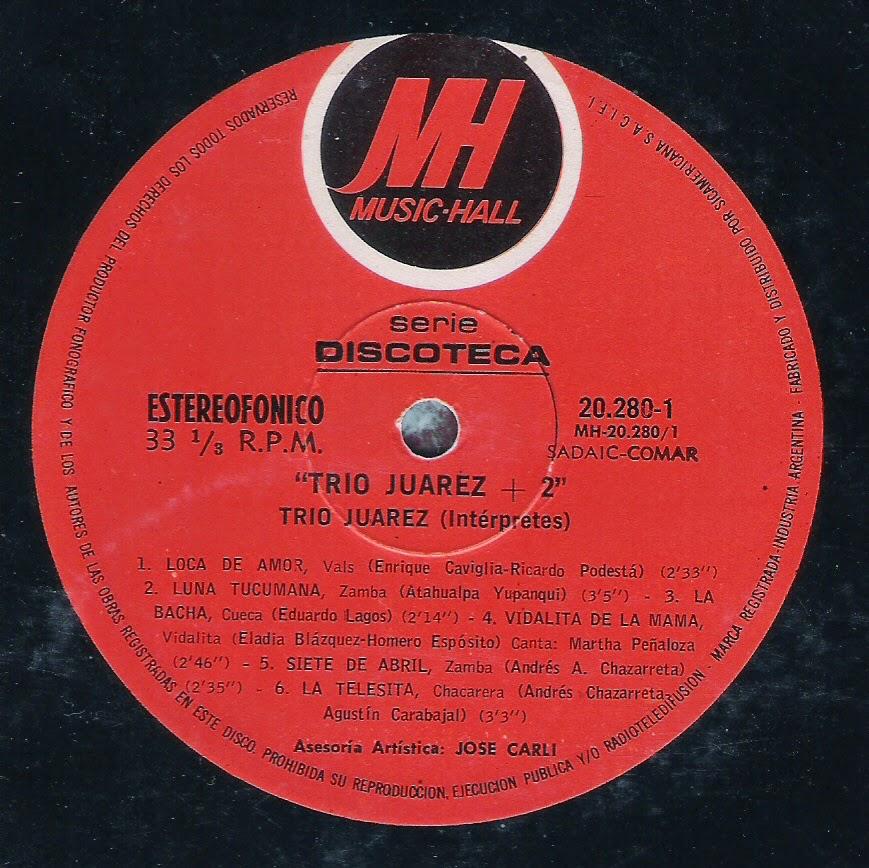 Trio Juarez - Trio Juarez + 2 (1971)