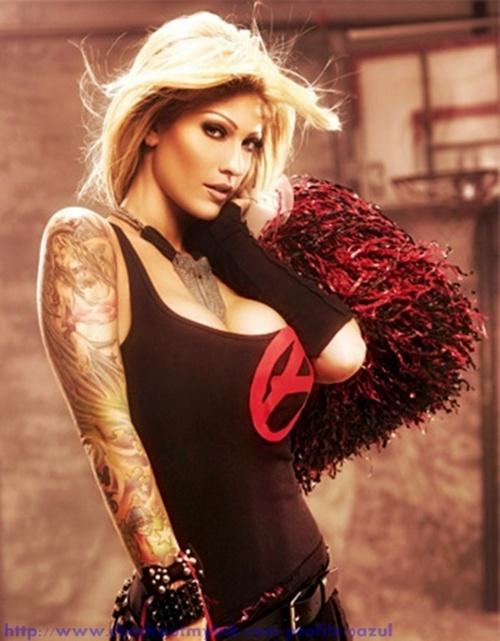 Girl Arm Tattoos
