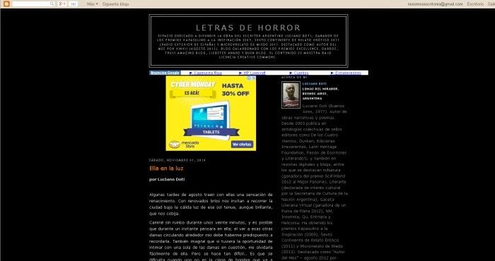 http://letrasdehorror.blogspot.com/