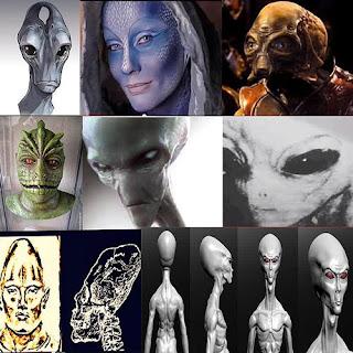 Il Libro segreto Russo che rivela le altre razze aliene