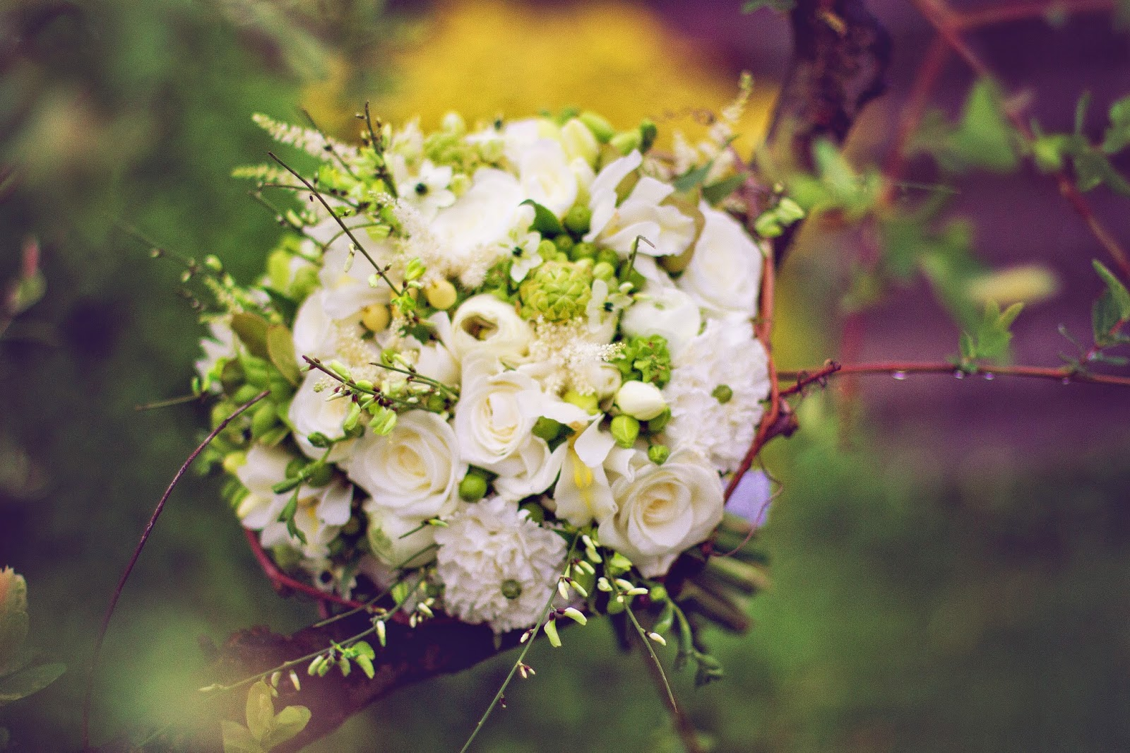 Vekamade: svatební dekor