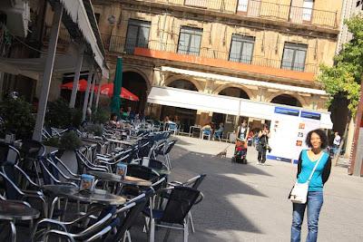 Plaza de los Fueros in Estella