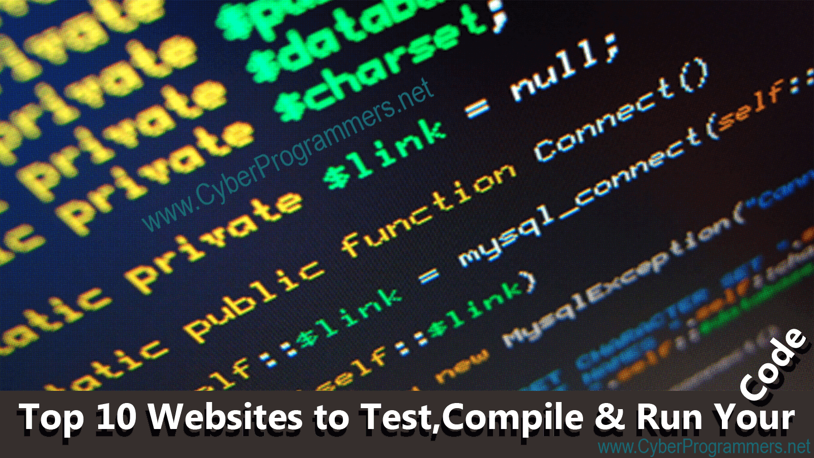 Top 10 Websites To Test Compile Amp Run Your Code Online