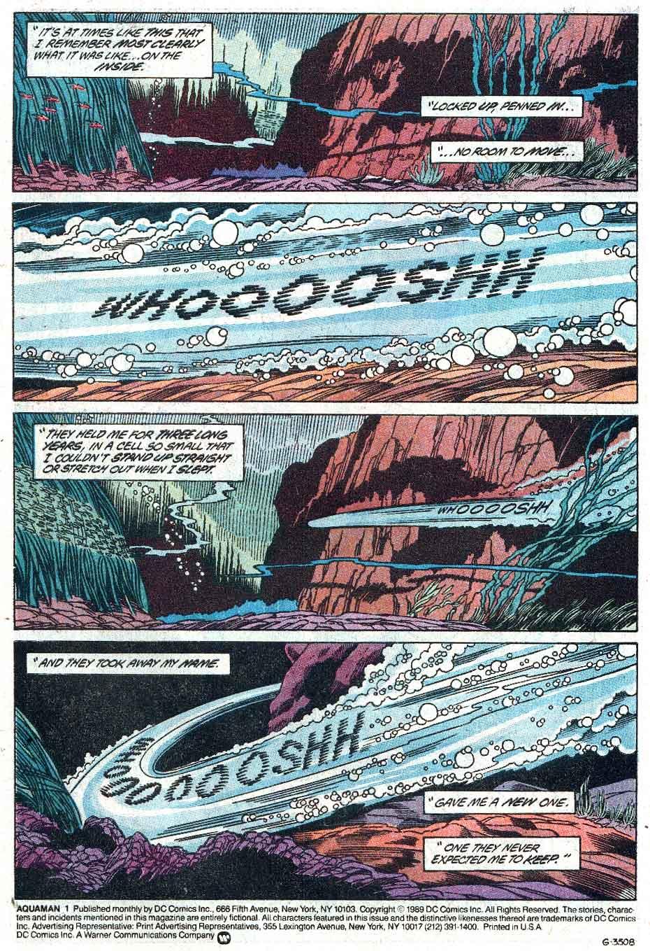 Aquaman (1989) Issue #1 #1 - English 2