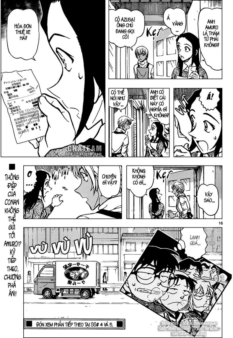 Detective Conan - Thám Tử Lừng Danh Conan chap 842 page 17 - IZTruyenTranh.com