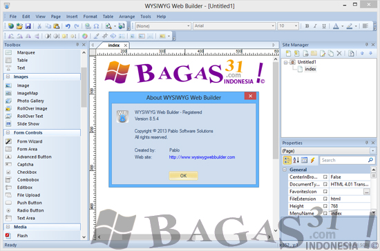 WYSIWYG Web Builder 8.5.4 Full Patch 2