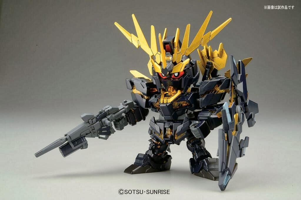 Hisparobot: SD Gundam BB Senshii Gundam Unicorn 02 Banshee ...