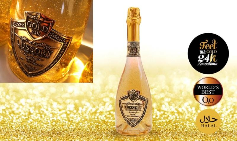 Dubai Ciptakan Wine Halal dengan Butiran Emas