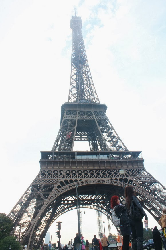 Melody Europe Trip Paris Day 1 Eiffel Tower