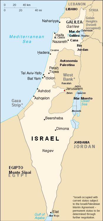 LAMINAS PARA COLOREAR - COLORING PAGES: Mapa y Bandera de Israel ...
