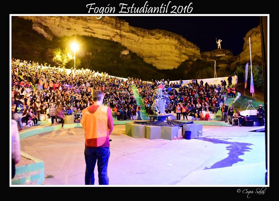 IMPRESIONANTE POSTAL REGINENSE: FOGÓN ESTUDIANTIL 2016.