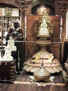 Buddha, Bangkok, Wesco Fabrics