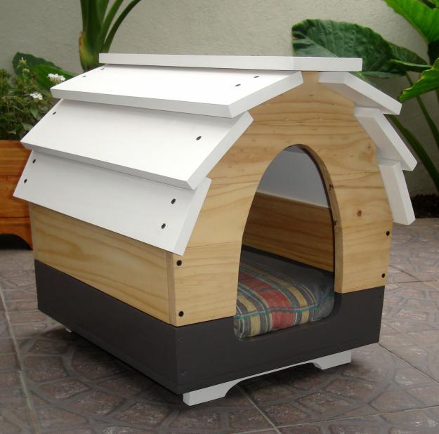 Casas modernas para perros pictures to pin on pinterest for Casas para perros