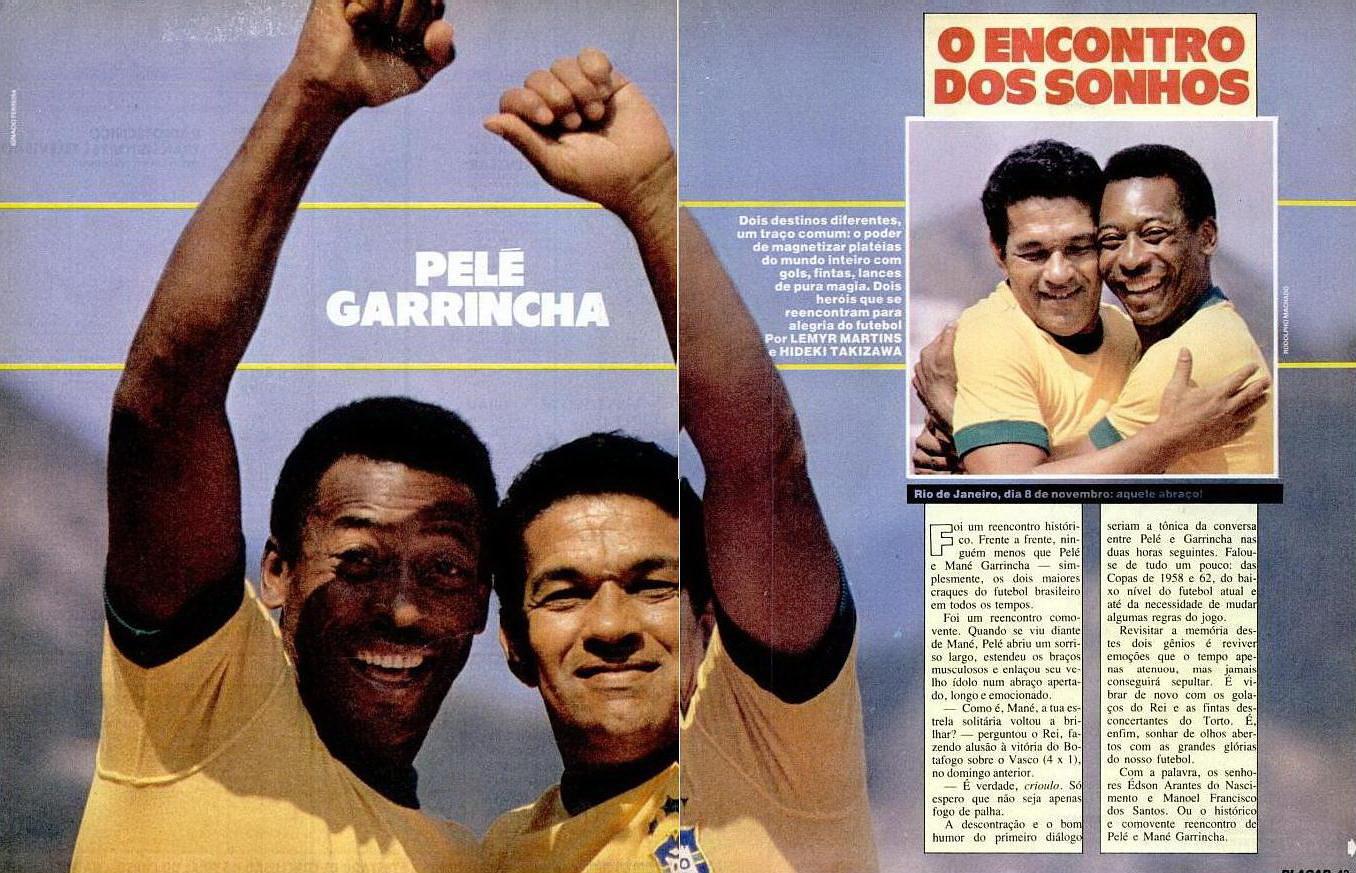 FRITZ THE FLOOD Gods of Brazil Pele & Garrincha