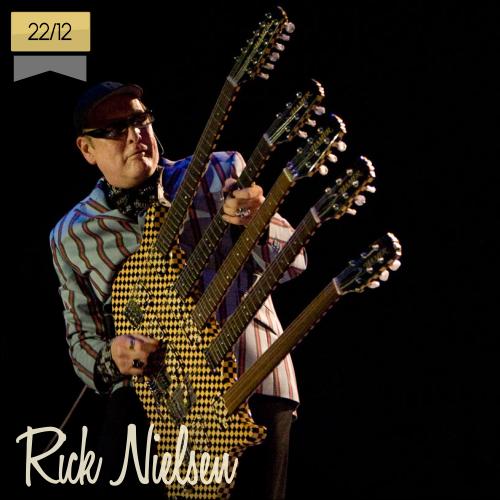 22 de diciembre | Rick Nielsen - @cheaptrick | Info + vídeos